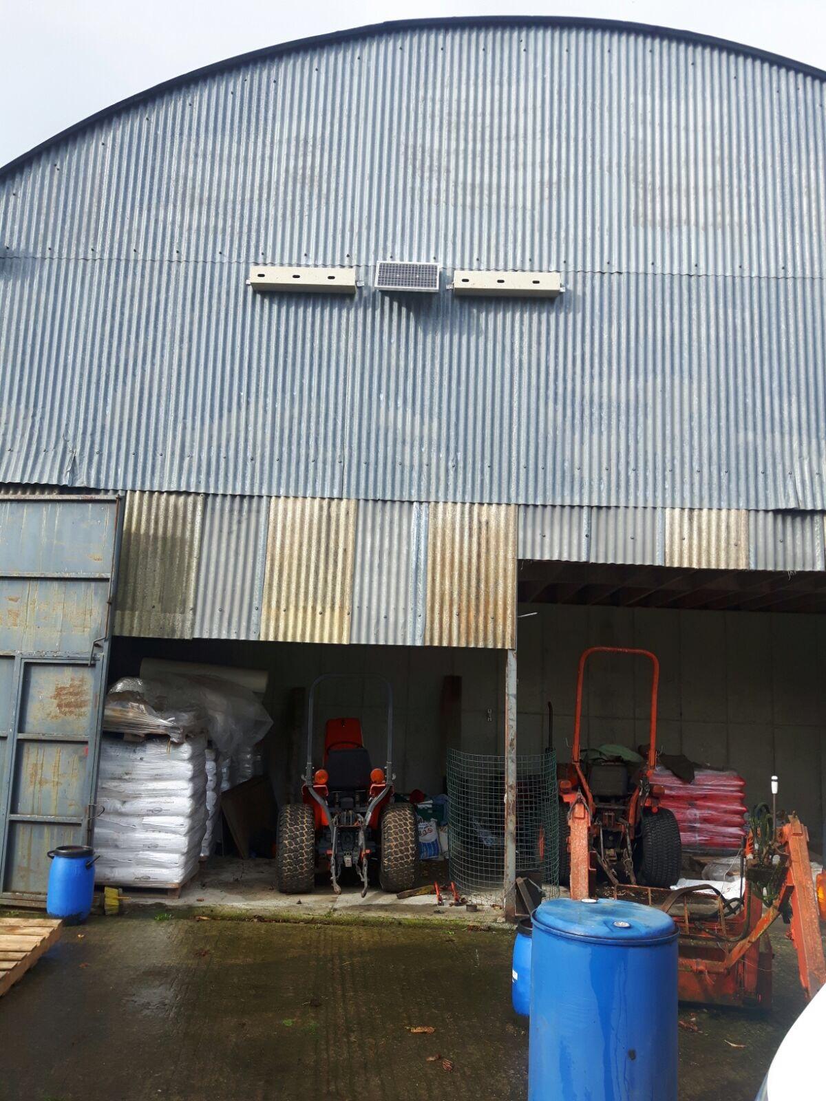 Genesis nest Box on farm building