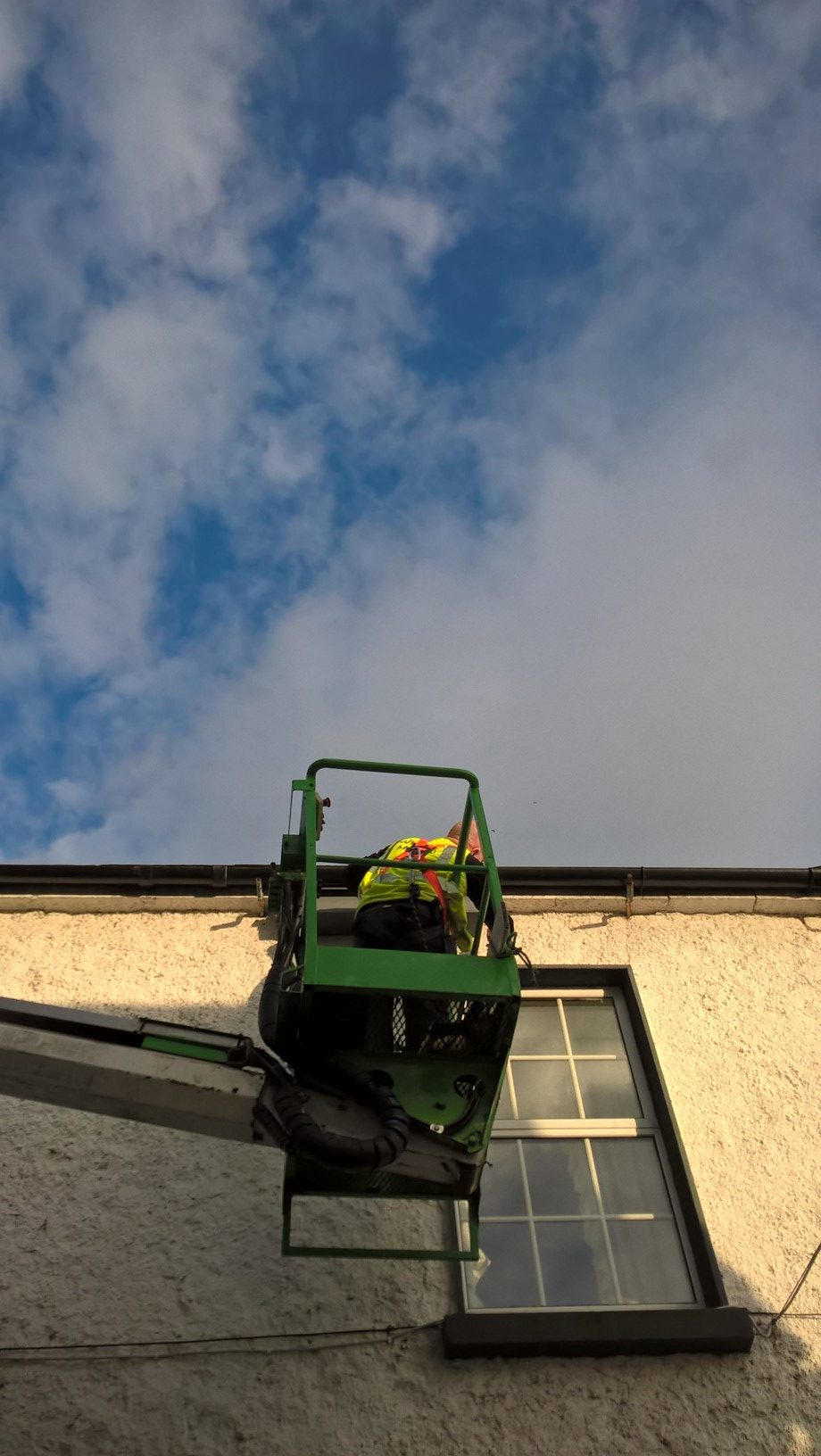 Fitting a Genesis Nest Box for swifts by Paddy Sheridan