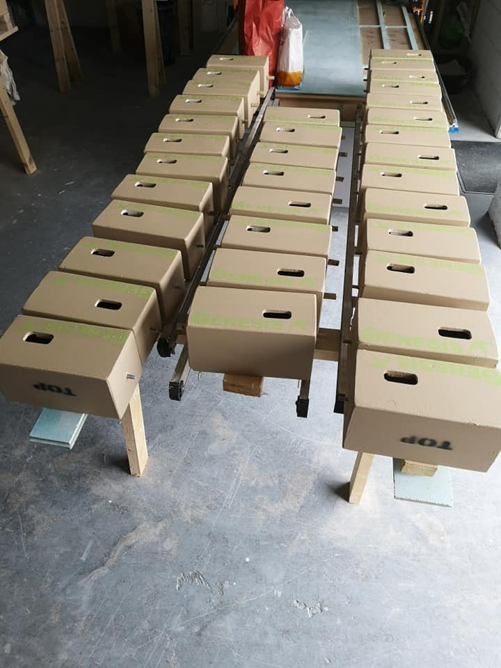 First 40 Genesis swift nest boxes made using our new CNC router - it makes life a lot easier!