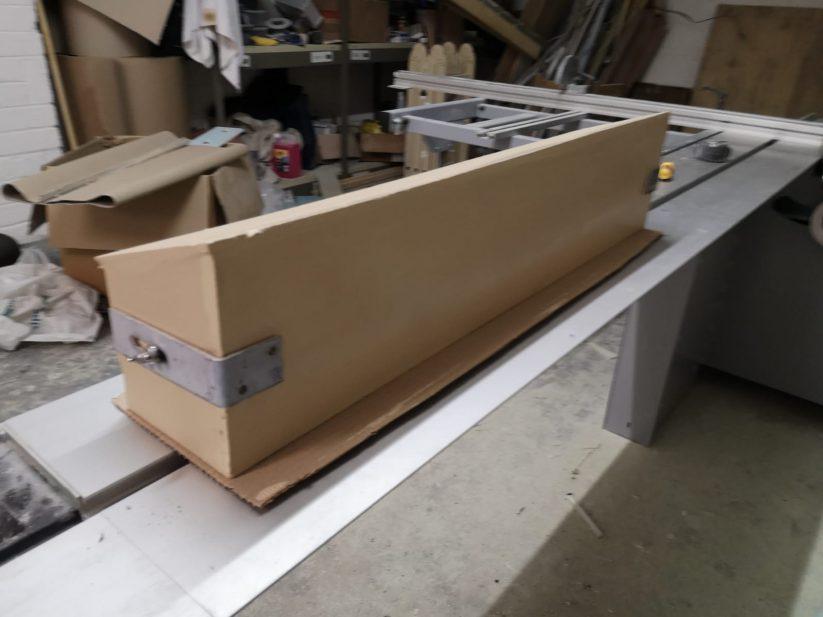 The new Genesis anti-predator swift nest box.